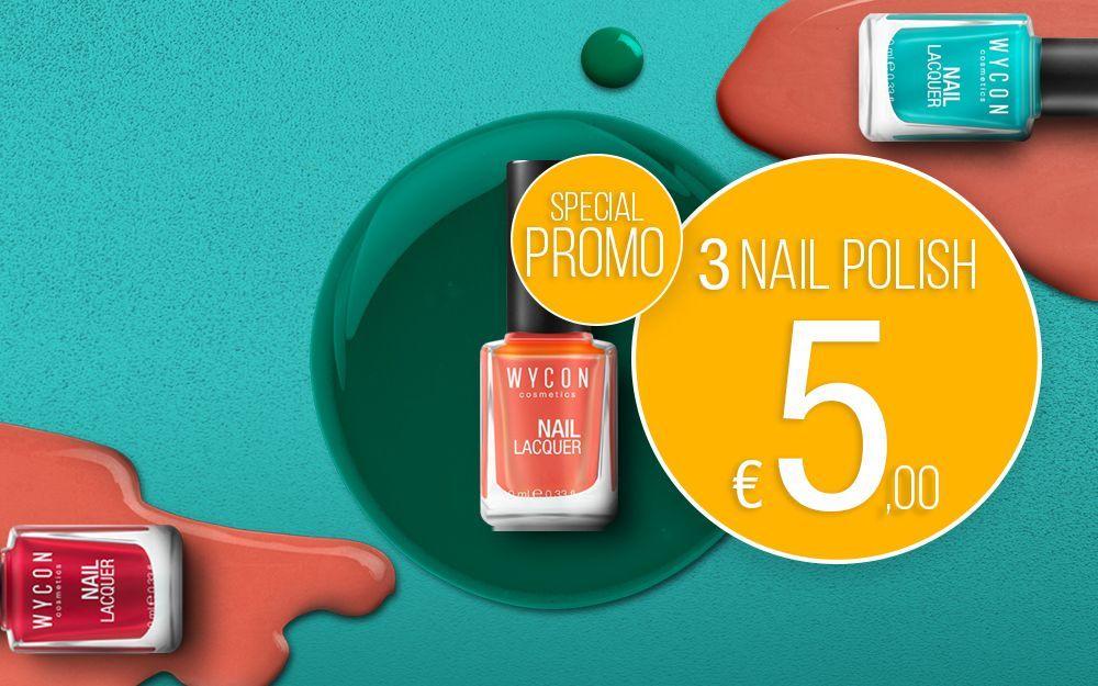 3 NAIL LAQUER 5 EUROS