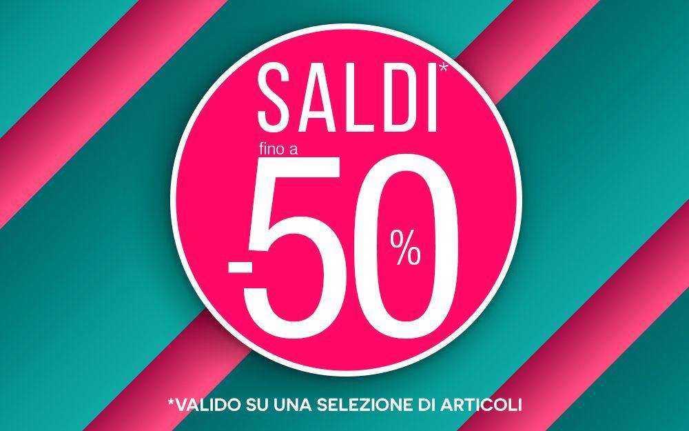 SALDI AL -50%
