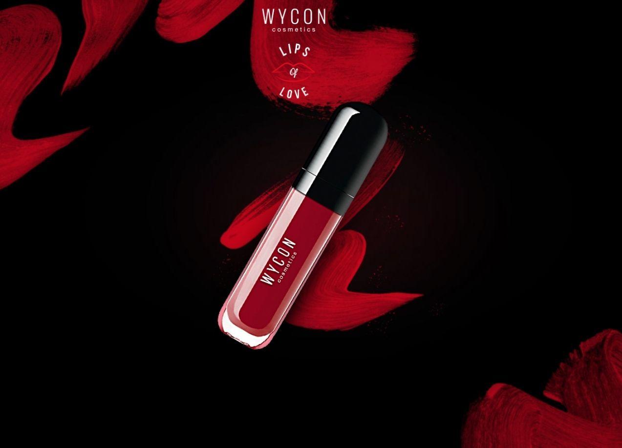 """REGALA COLORE ALLE TUE LABBRA CON IL CONTEST """"LIPS OF LOVE""""! Fino al 20 maggio, puoi vincere un fantastico rossetto WYCON cosmetics"""