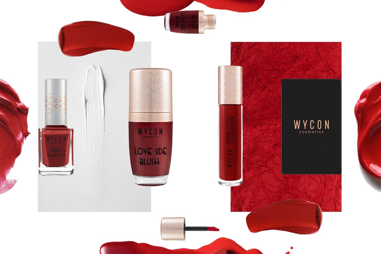 COLOR PASSION - LA MAGIA DEL ROSSO Il trucco autunnale di WYCON cosmetics si veste del colore più iconico e sensuale che ci sia