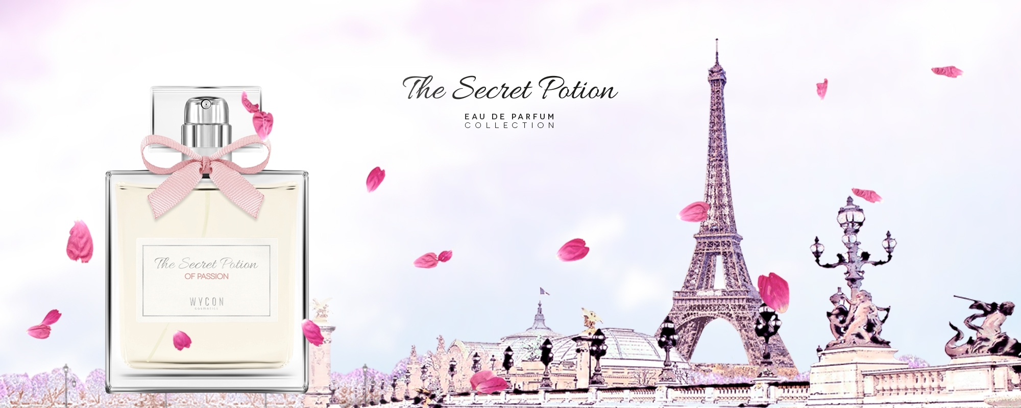 Wycon cosmetics presenta The Secret Potion Nove mix olfattivi per riscaldare le fredde notti invernali