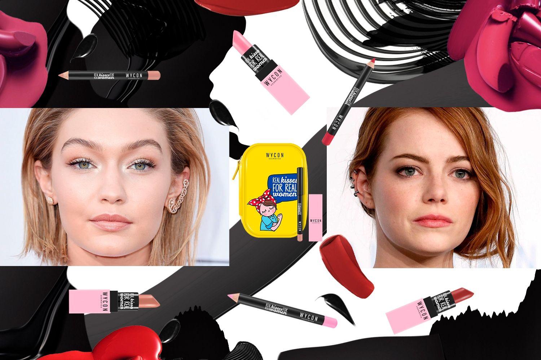 Labbra primavera 2017: romanticismo e colori pastello Con WYCON cosmetics, ad ogni bocca il suo colore