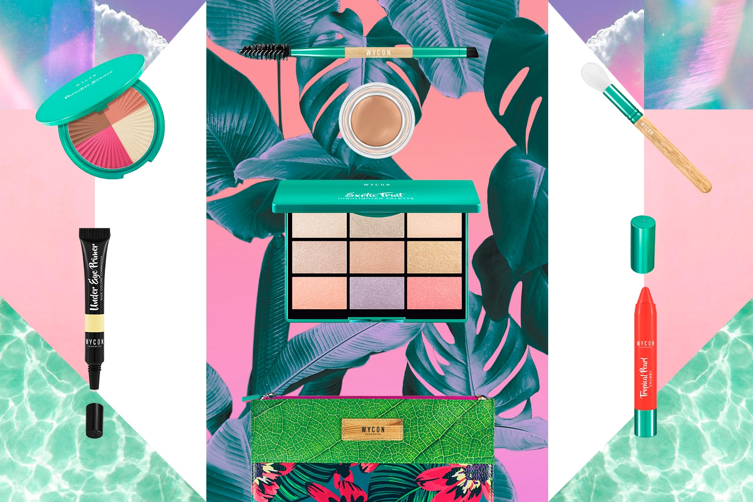 SPRING SUMMER ESSENTIALS: I MUST-HAVE DA PORTARE SEMPRE CON TE! La beauty list di WYCON cosmetics