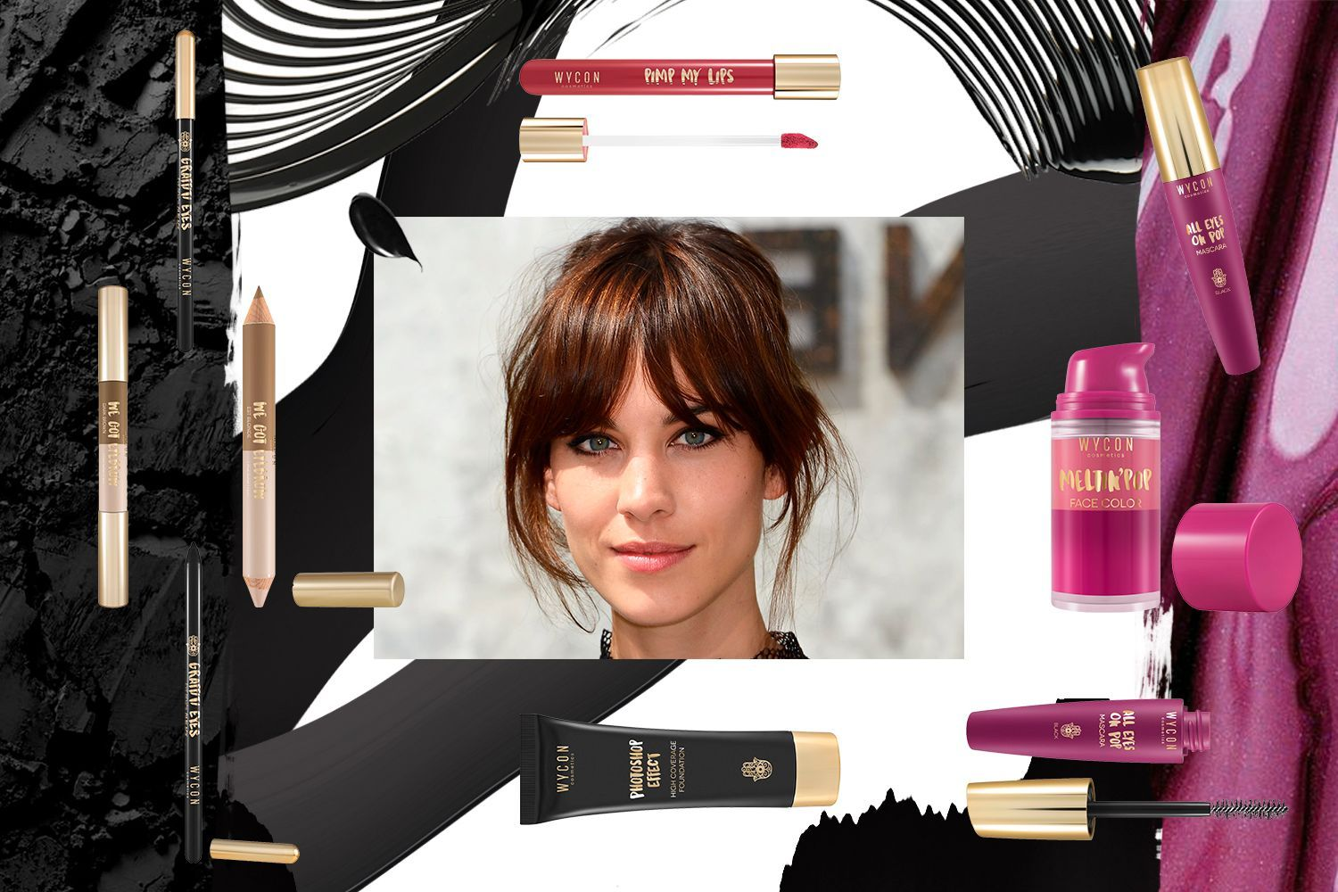 GET THE LOOK OF ALEXA CHUNG Ottieni l'effetto Alexa Chung con WYCON cosmetics in pochi e semplici step