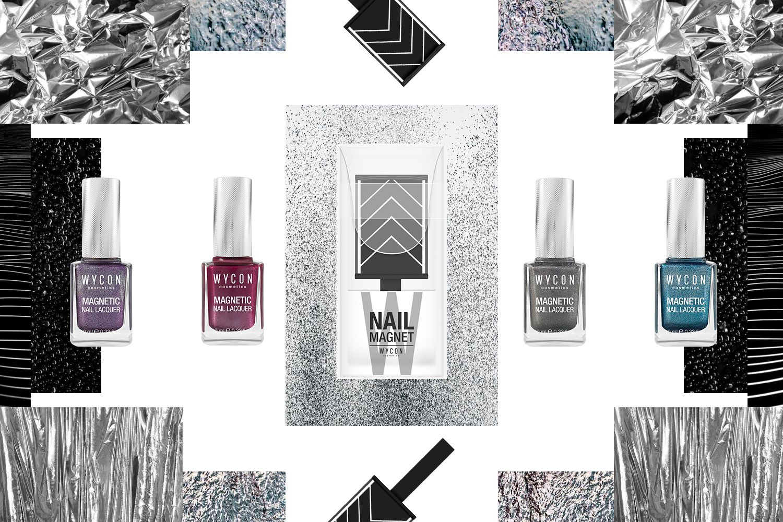MAGNETIC EFFECT: NAIL ART ED EFFETTI GRAFICI DI TENDENZA La guida ufficiale di WYCON cosmetics ai trend di stagione!