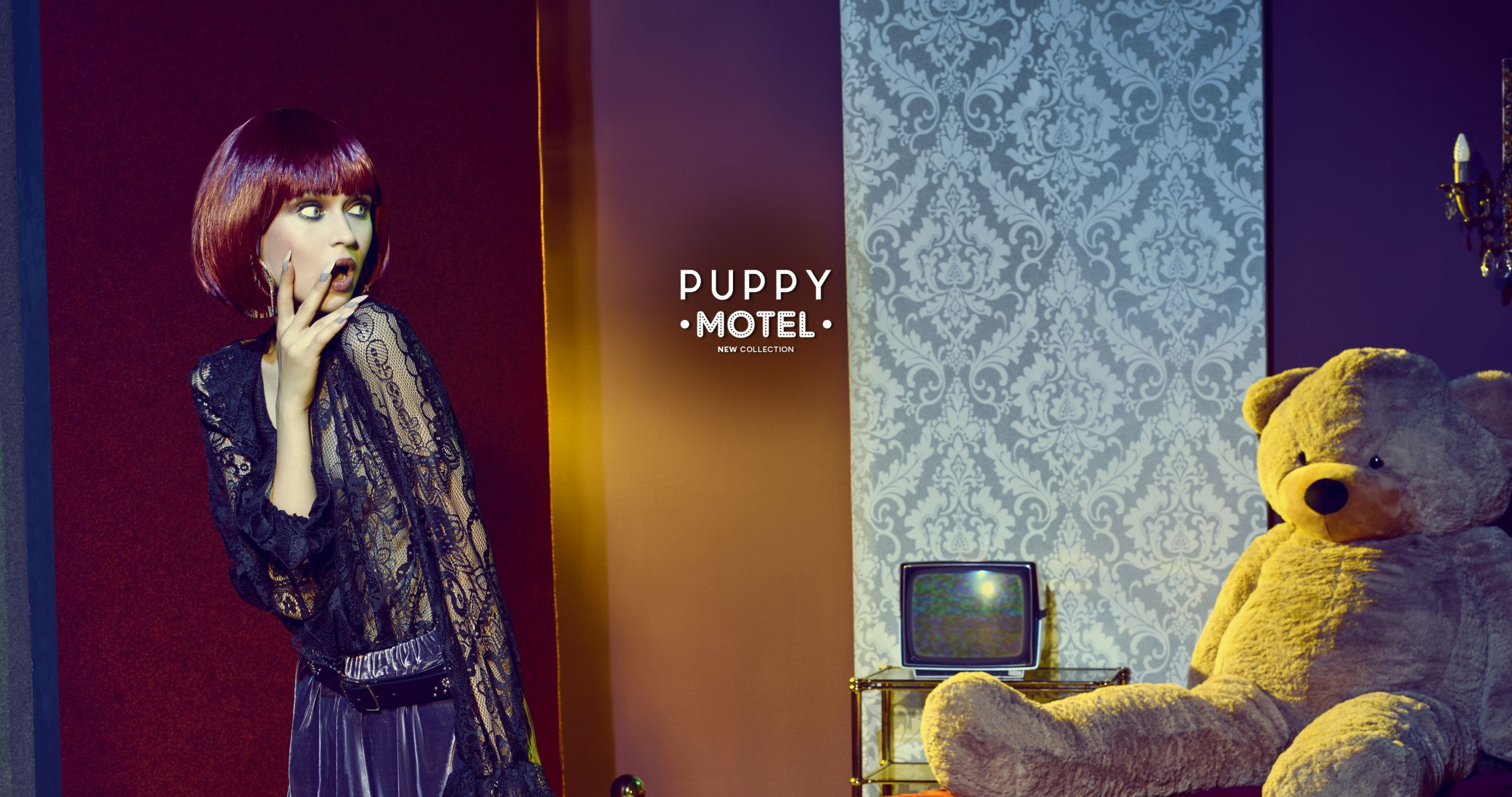 PUPPY MOTEL  new collection