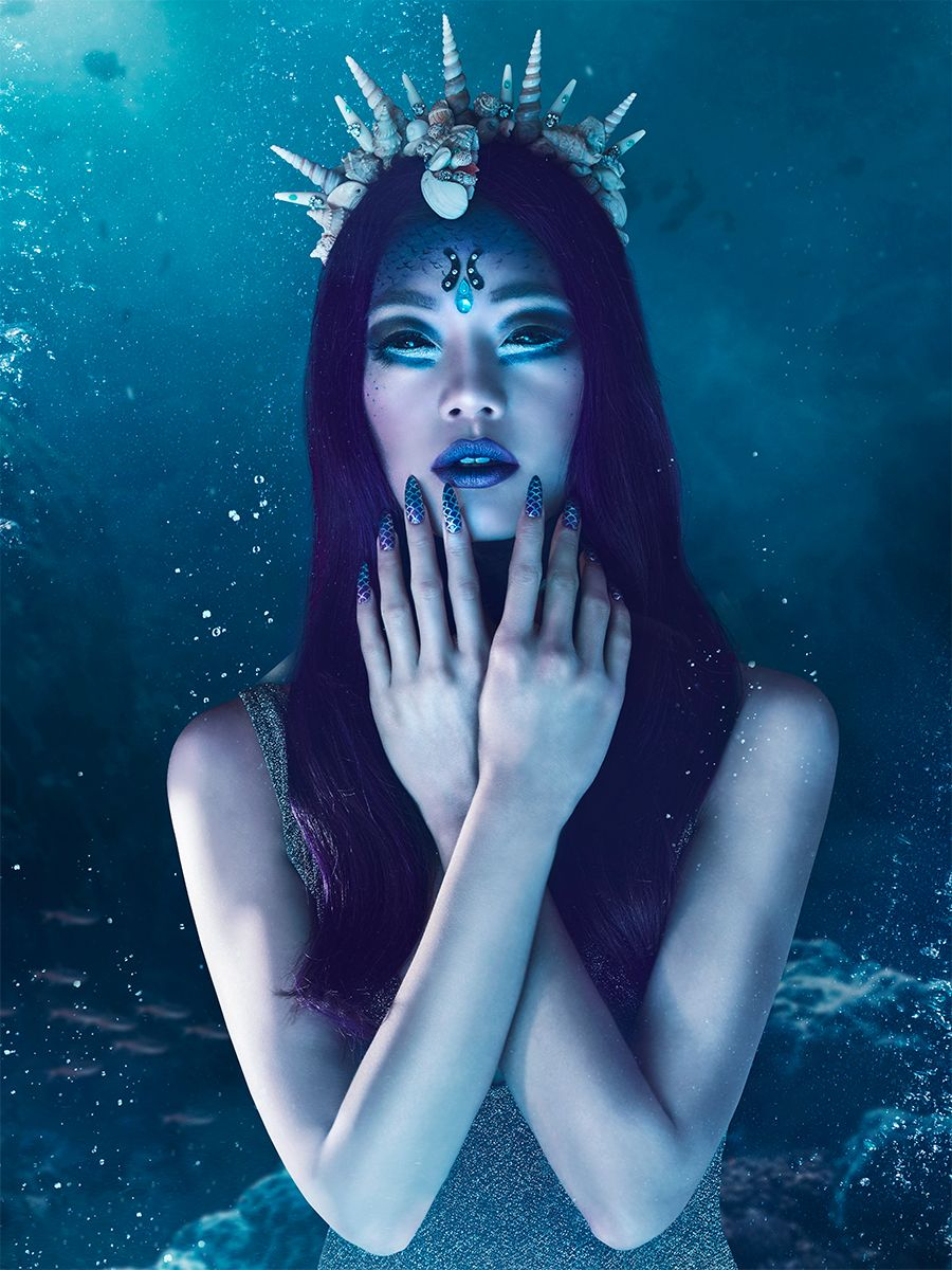 Perfidious Mermaid Halloween Collection Wycon Cosmetics