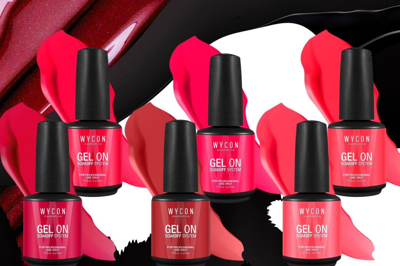 Smalto mania: rosso e magenta I colori WYCON cosmetics che scaldano il cuore