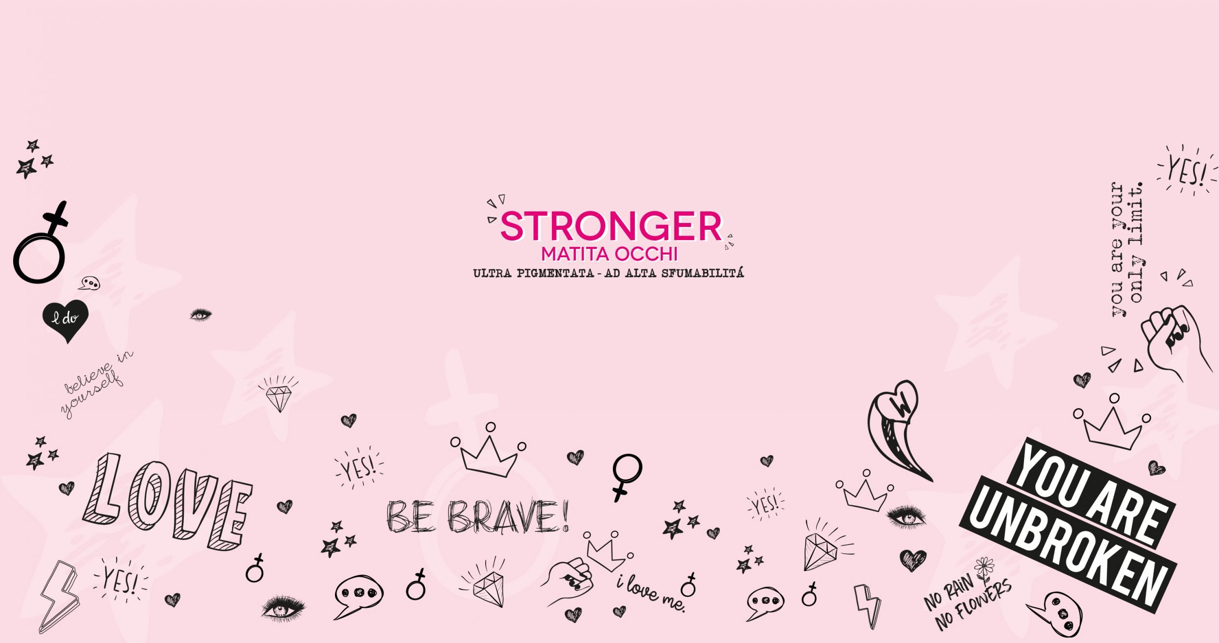 STRONGER  woman's day collection