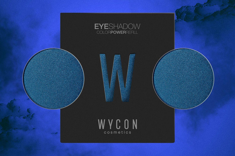 Ombretto azzurro:  il make up must have di stagione ... a me gli occhi, con WYCON cosmetics!