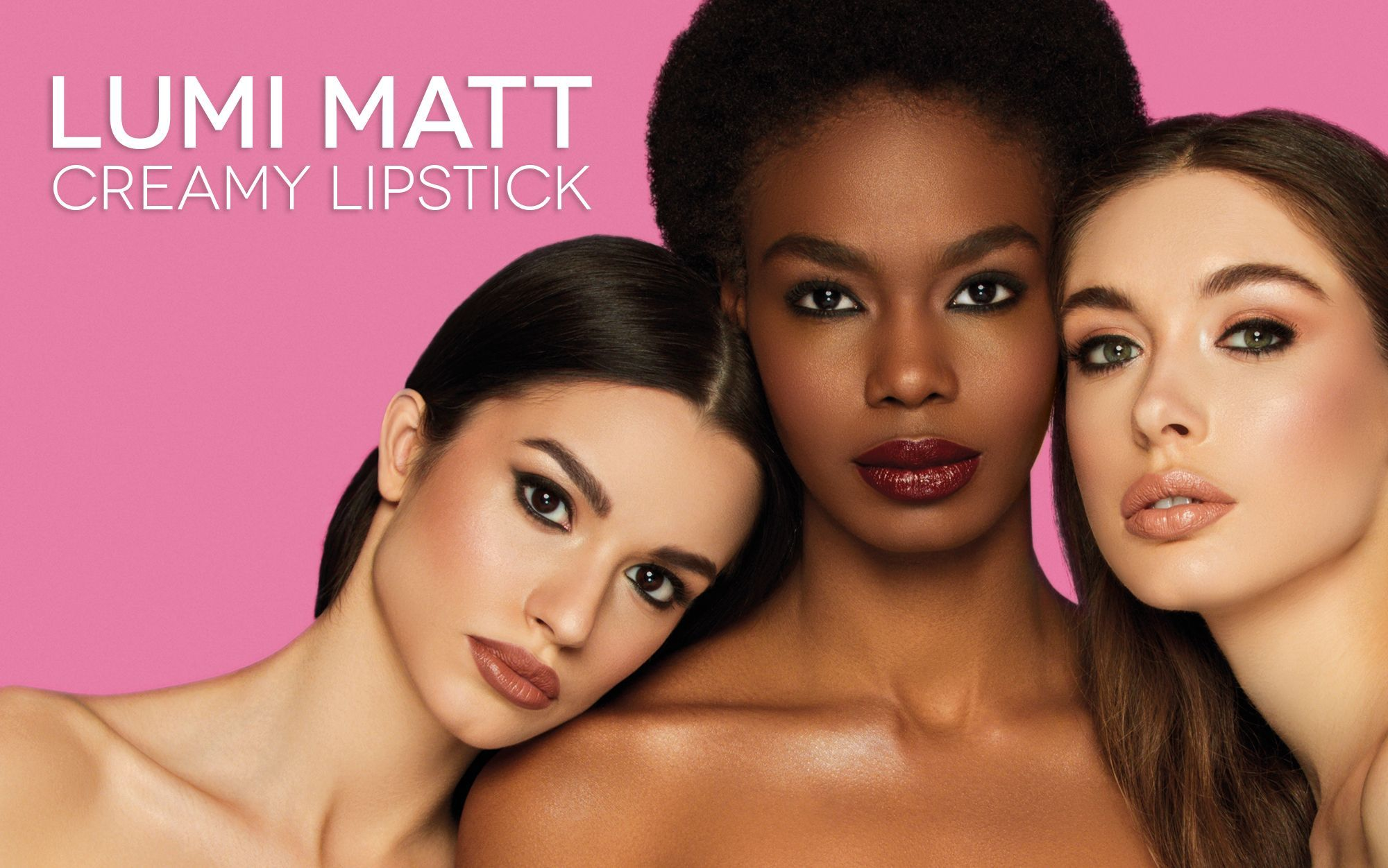 LUMI MATT CREAMY LIPSTICK NEW IN